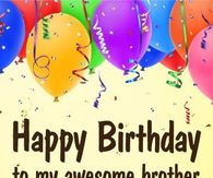 Happy Birthday Brother Pictures Photos Images And Pics For
