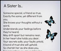 Sister Quotes Pictures, Photos, Images, and Pics for Facebook