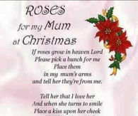 Roses For Mom At Christmas