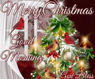 345095 Merry Christmas God Bless You And Your Morning