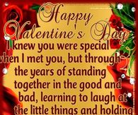 sweet valentine words for him