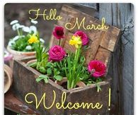 Welcome March Pictures Photos Images And Pics For