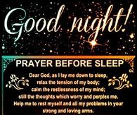 Good Night Prayer Pictures, Photos, Images, and Pics for