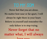 Mother And Son Quotes Pictures, Photos, Images, and Pics for ...