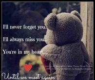 Missing someone in heaven
