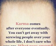 Karma Quotes Pictures, Photos, Images, and Pics for Facebook ...