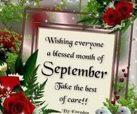 Hello September Quotes Pictures, Photos, Images, and Pics
