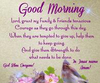 Good morning phrases