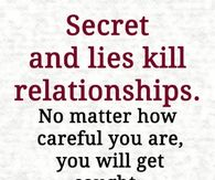 Sayings about lies and lying