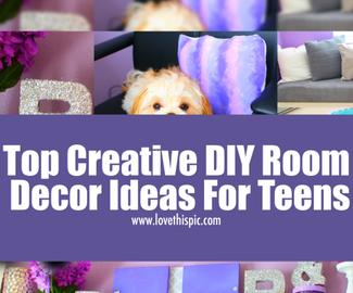 Top Creative Diy Room Decor Ideas For Teens